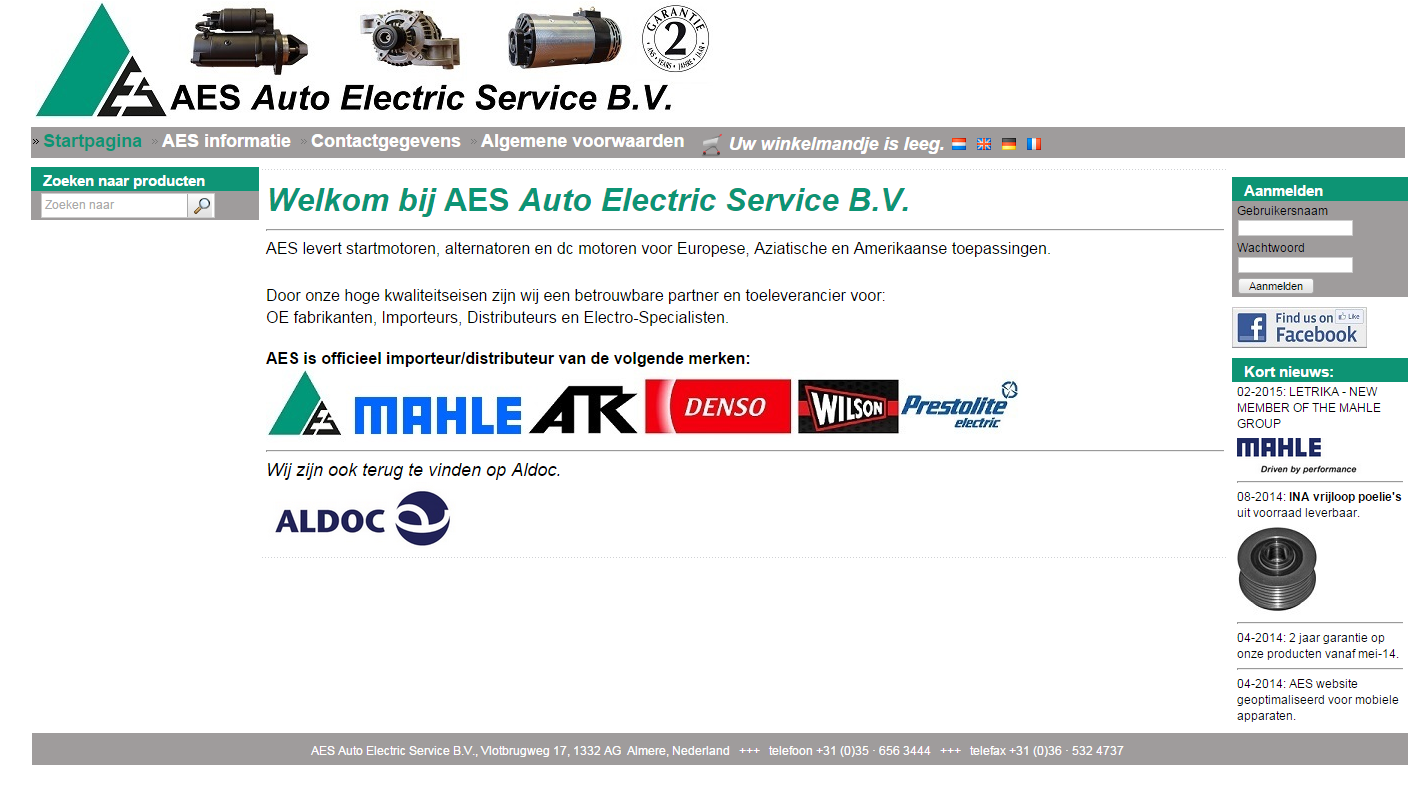 AES Homepage