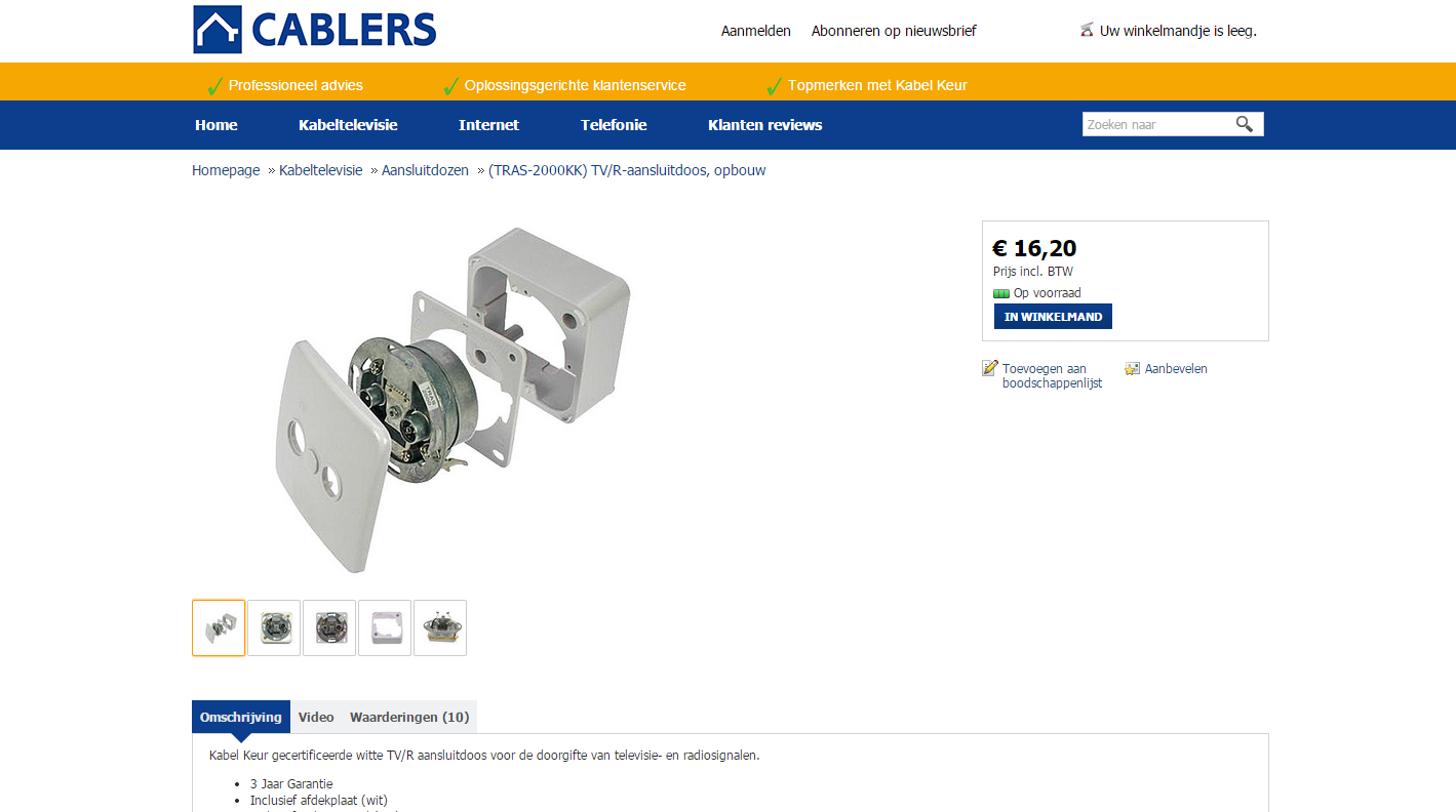 Cablers Product
