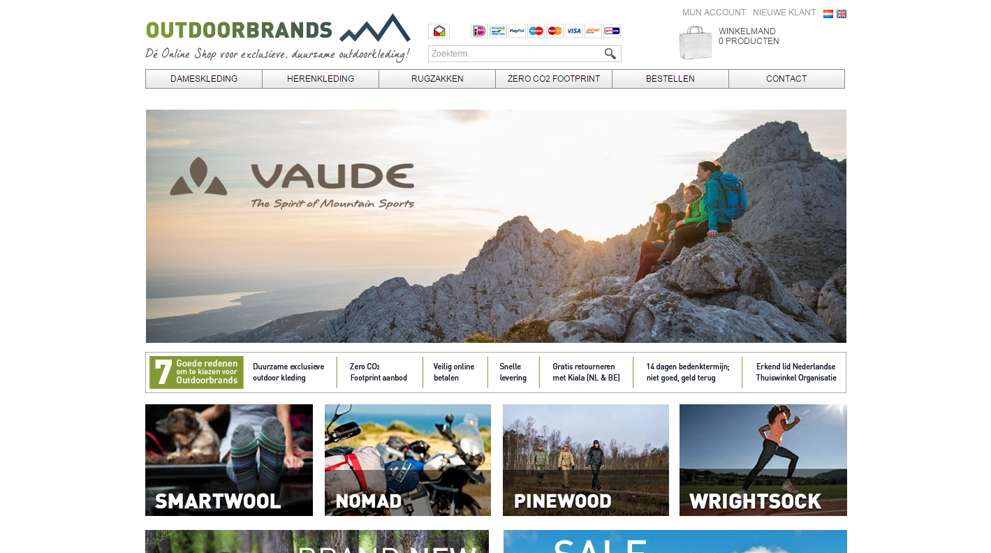 Outdoorbrands Homepage