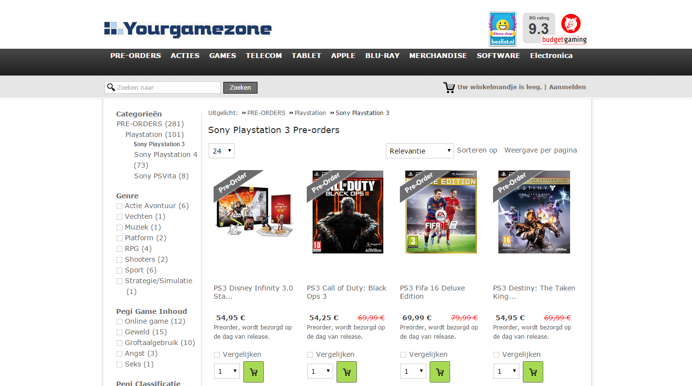 Yourgamezone Category