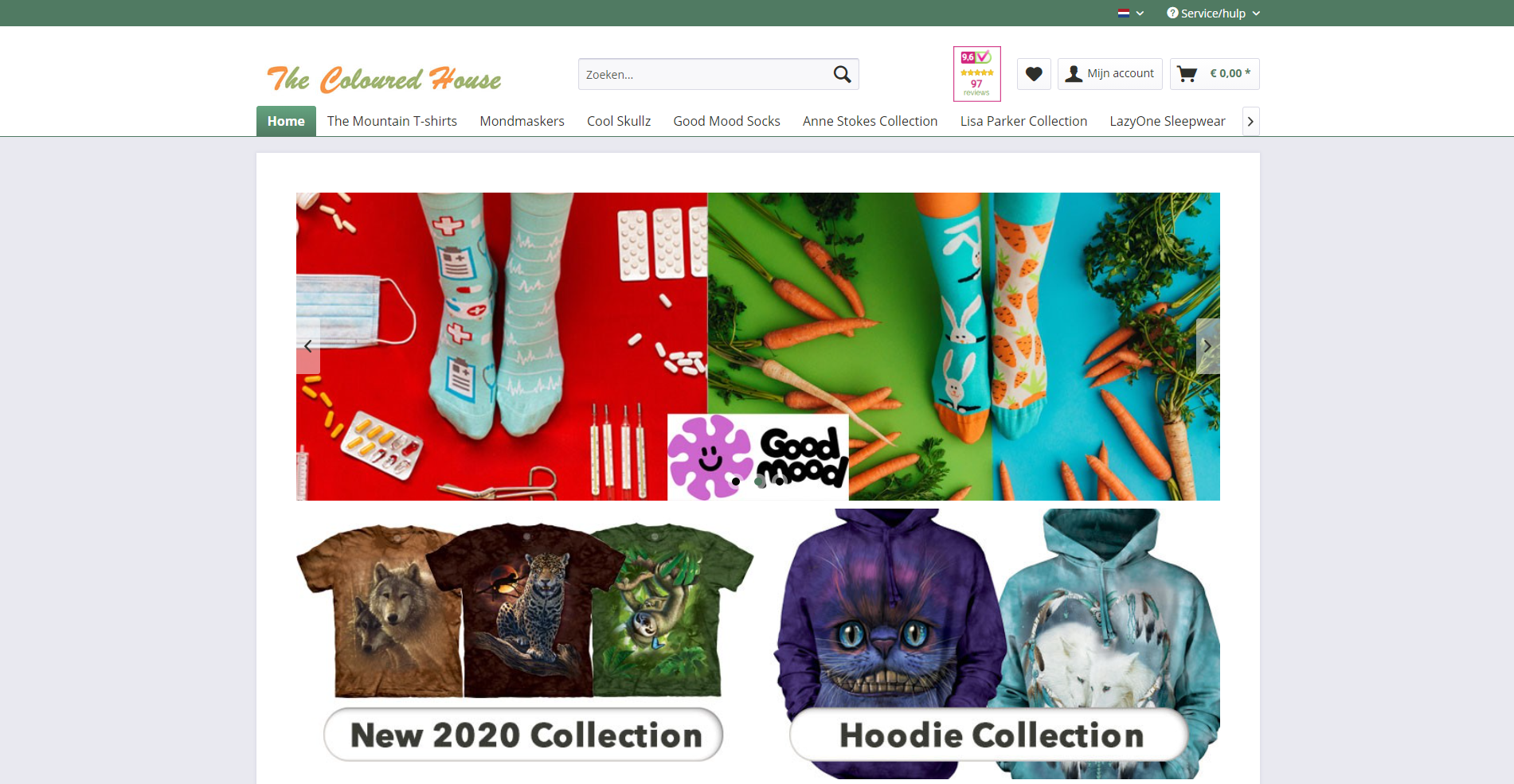 The Colouredhouse Homepage